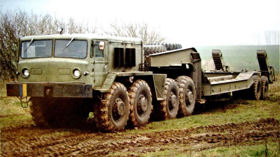 МАЗ-537 с полуприцепом МАЗ-5247Г