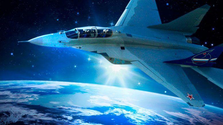 МиГ-41 в космосе