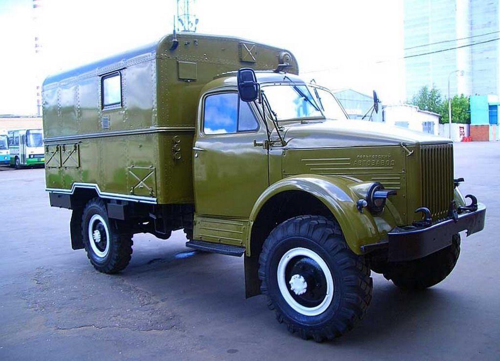 Модифицированный ГАЗ-63