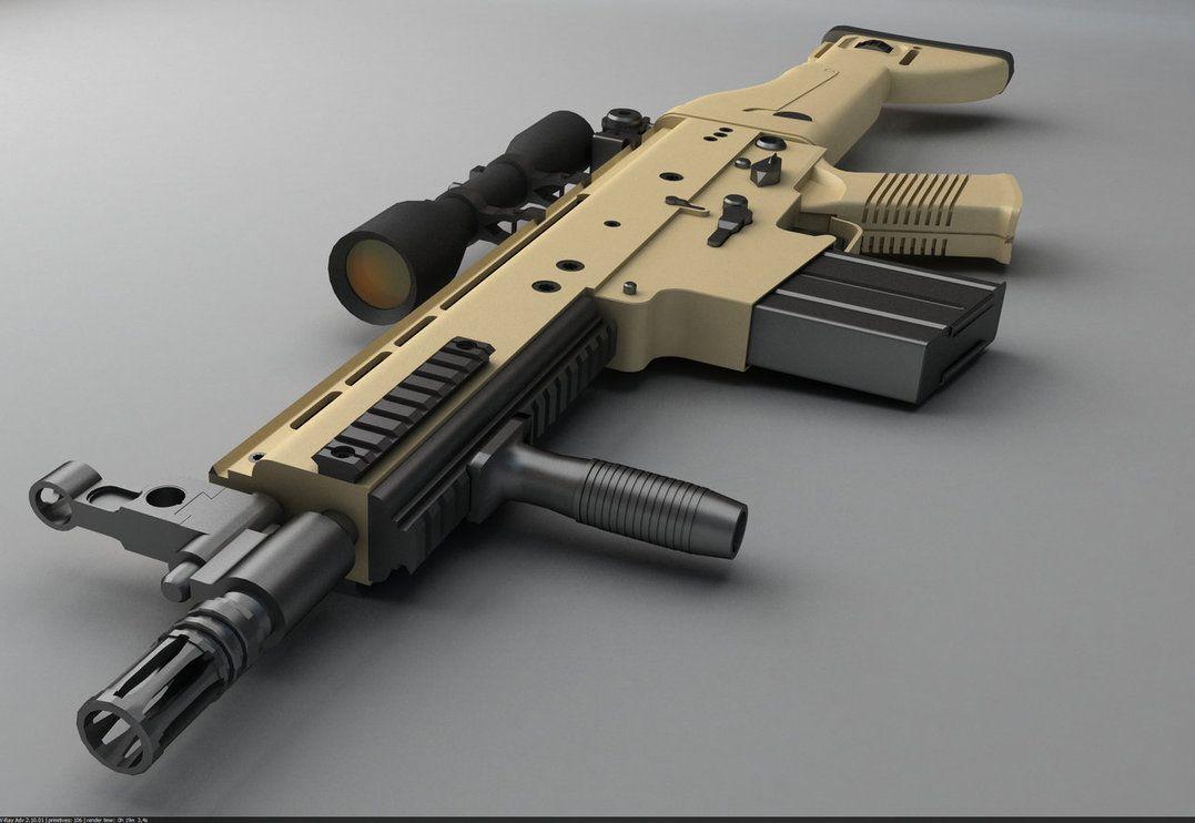 Модификация FN SCAR