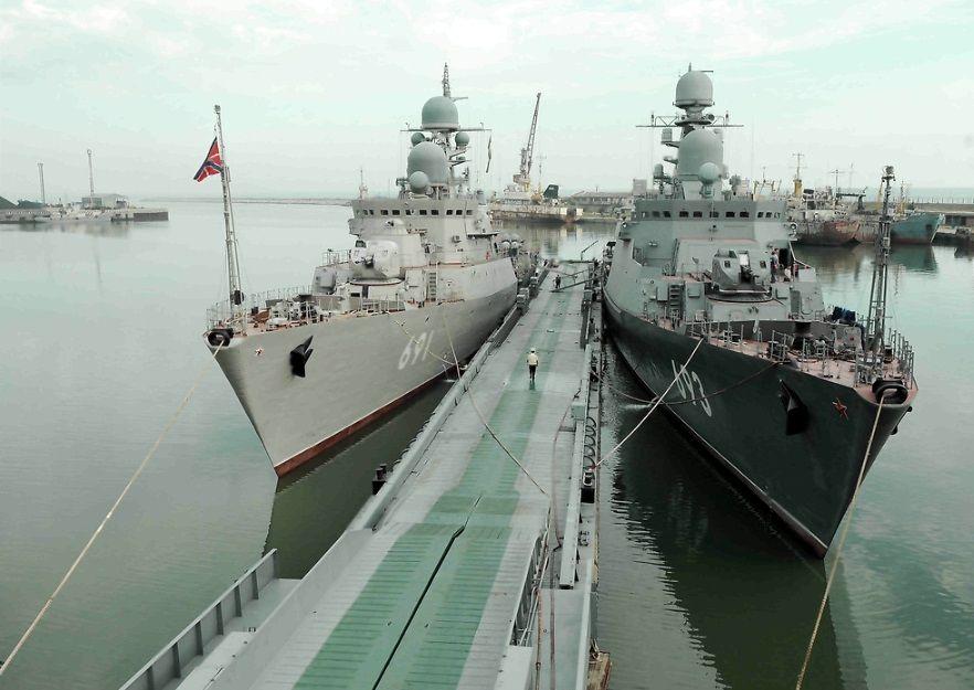 Оба корабля проекта 11661К в строю