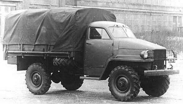 Опытный образец ГАЗ-63