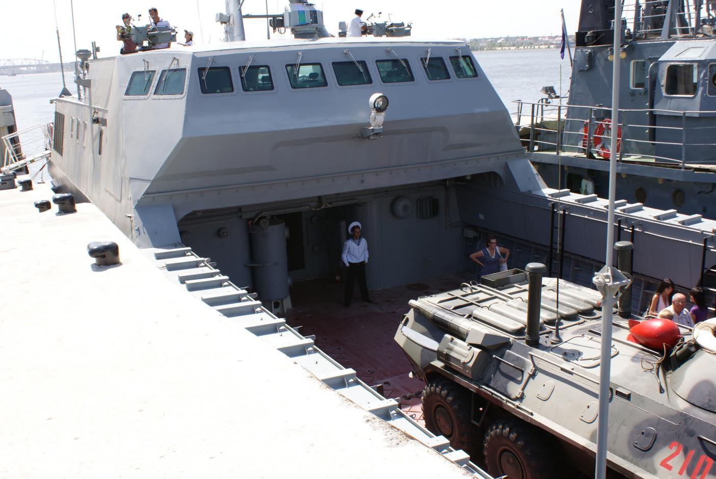 Палуба катера