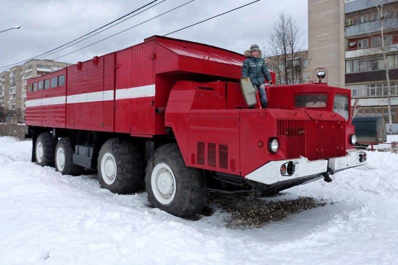Пожарный автомобиль МАЗ-543