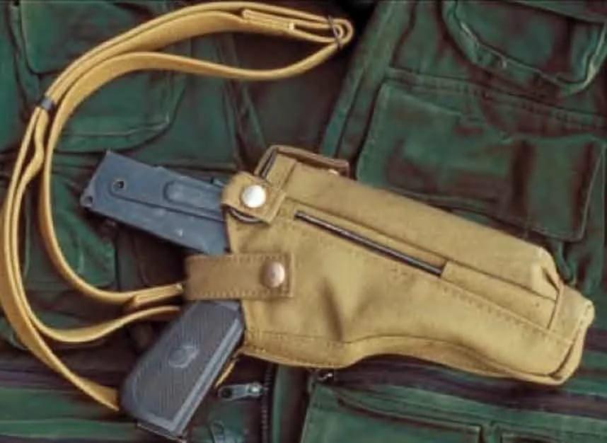 ПП-93 в кобуре
