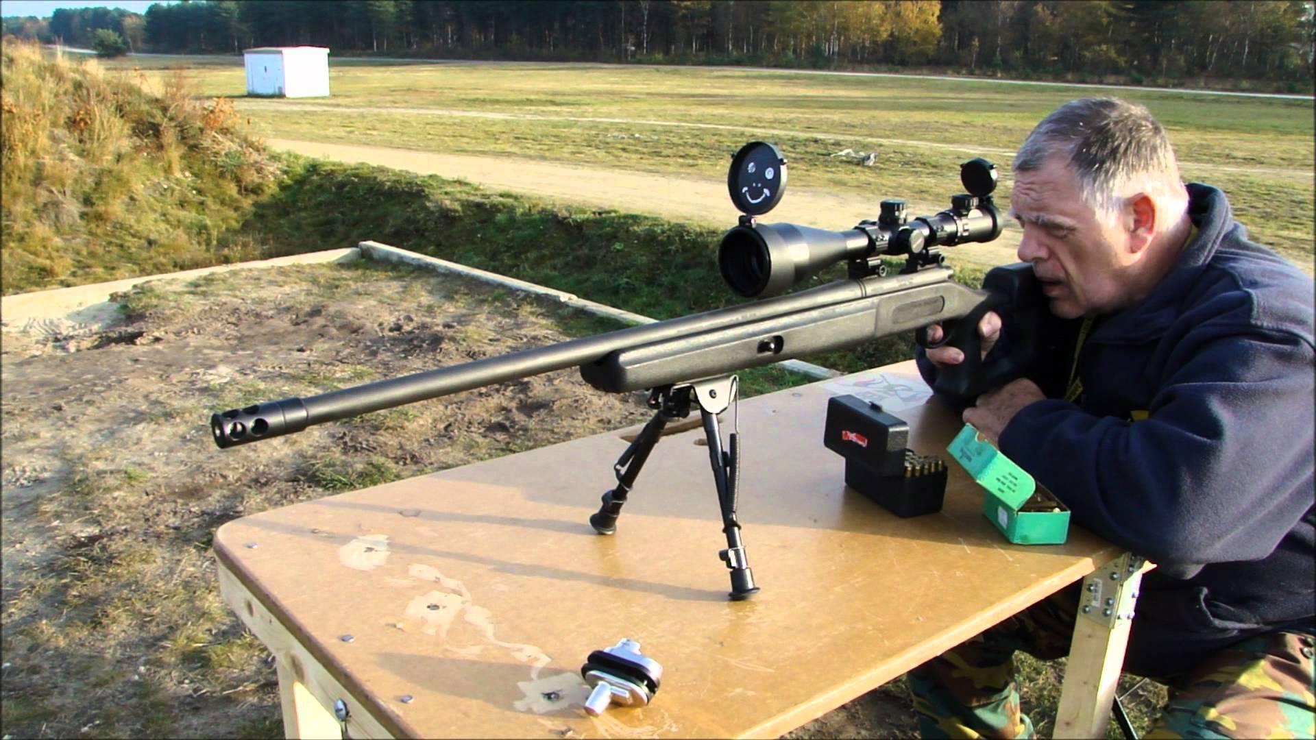 Прицеливание из Remington-700