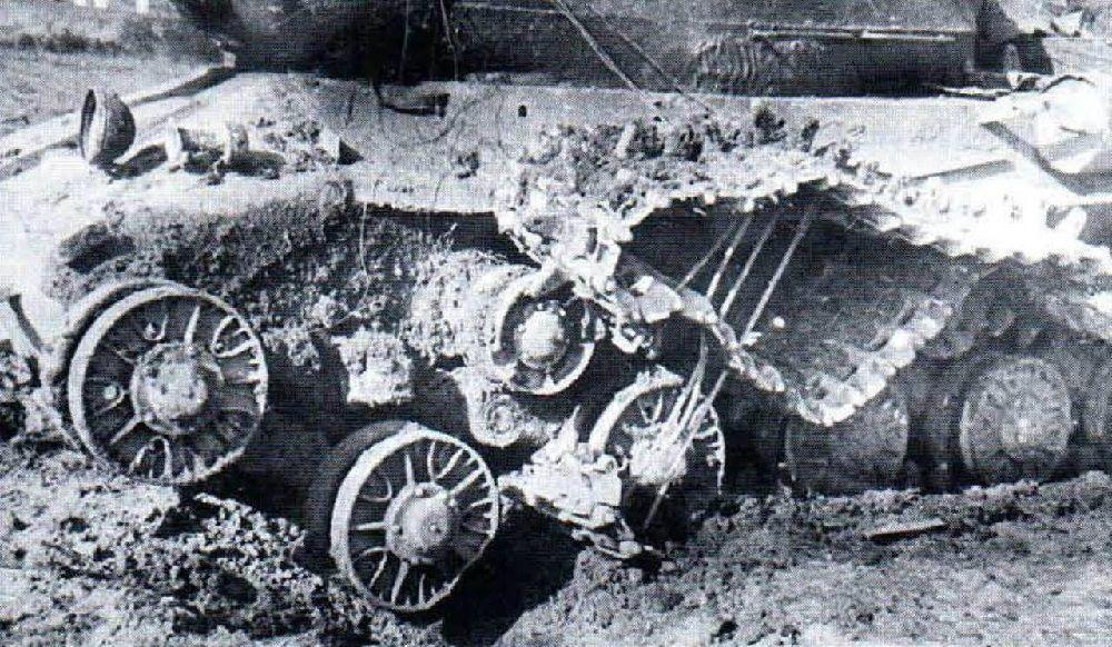 Противогусеничная мина