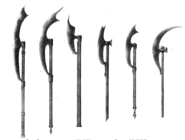 Разновидности бердышей