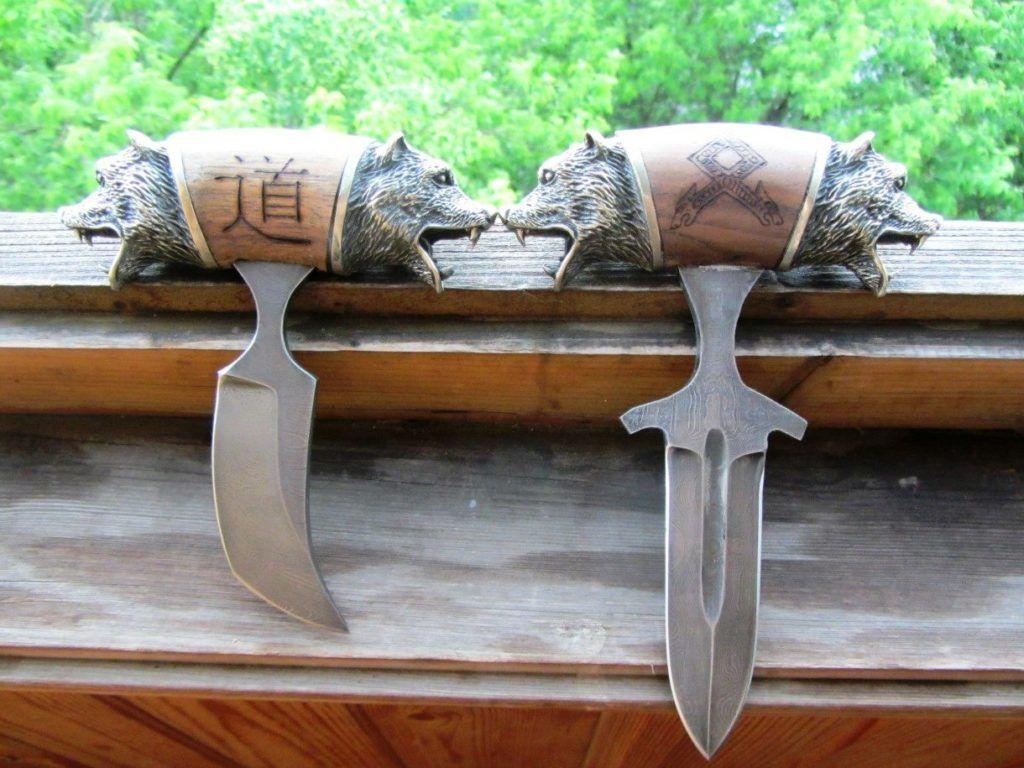 Разновидности тычковых ножей