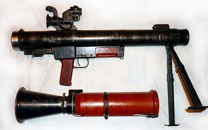 Разобранный РПГ-16