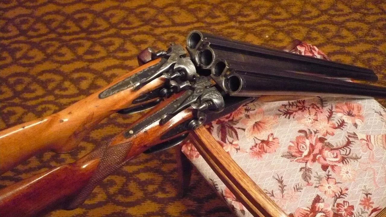 ТОЗ-54 с открытыми стволами