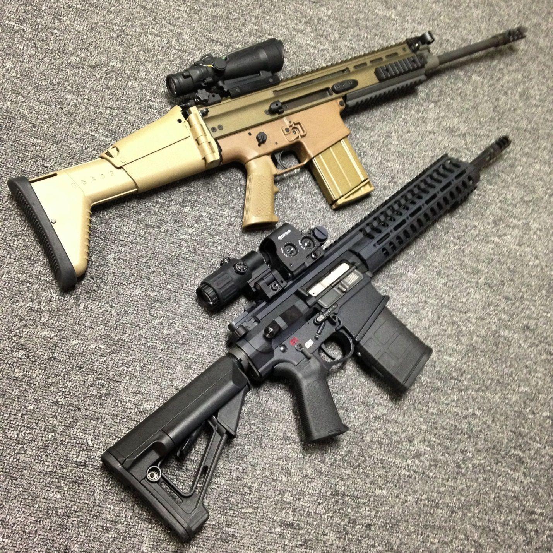 Версии FN SCAR