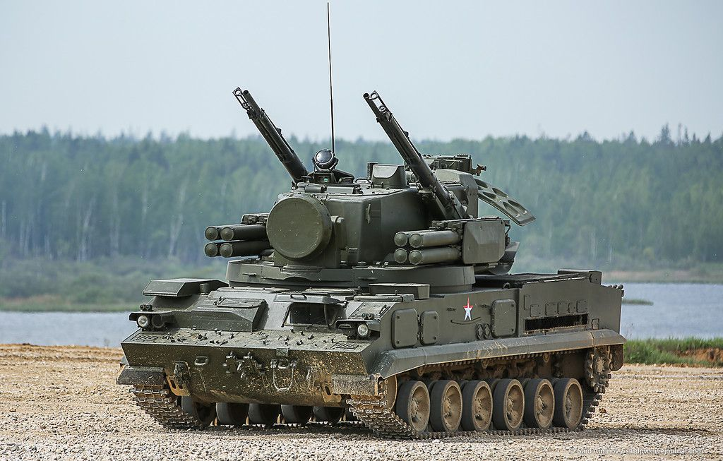 "ЗПРК 2С6 ""Тунгуска"""
