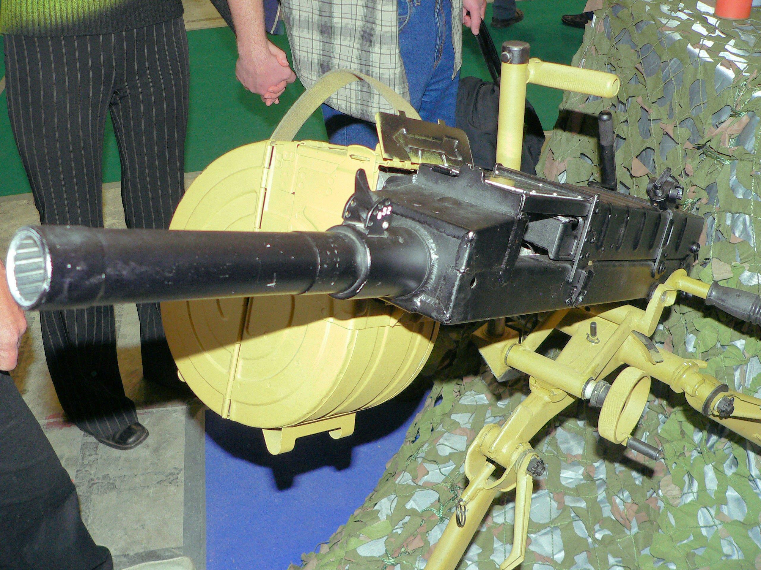 АГС-30 на выставке