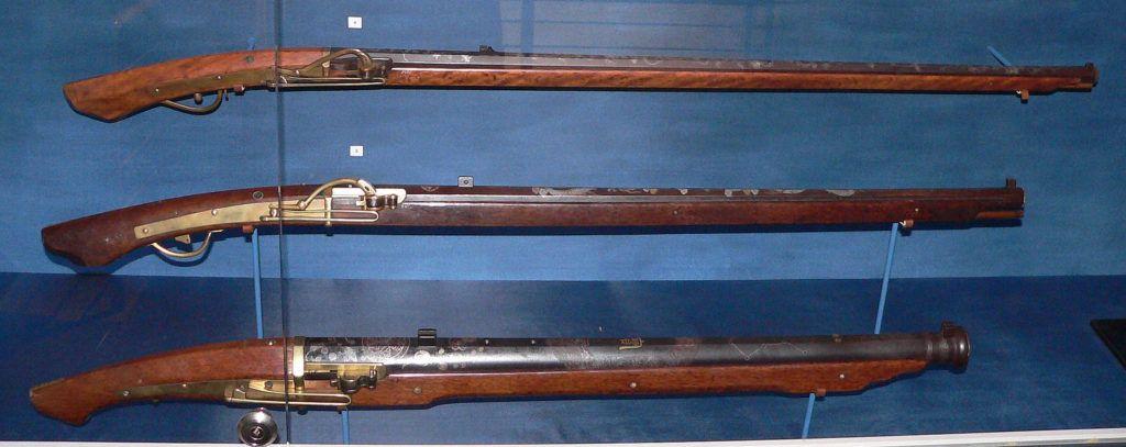 Аркебузы в музее