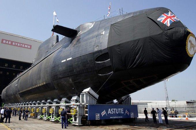 Британская атомная подводная лодка