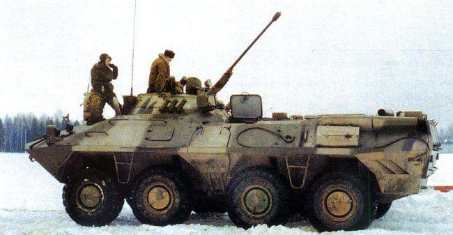 БТР-90 с экипажем