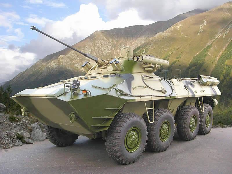 БТР-90 в горной местности