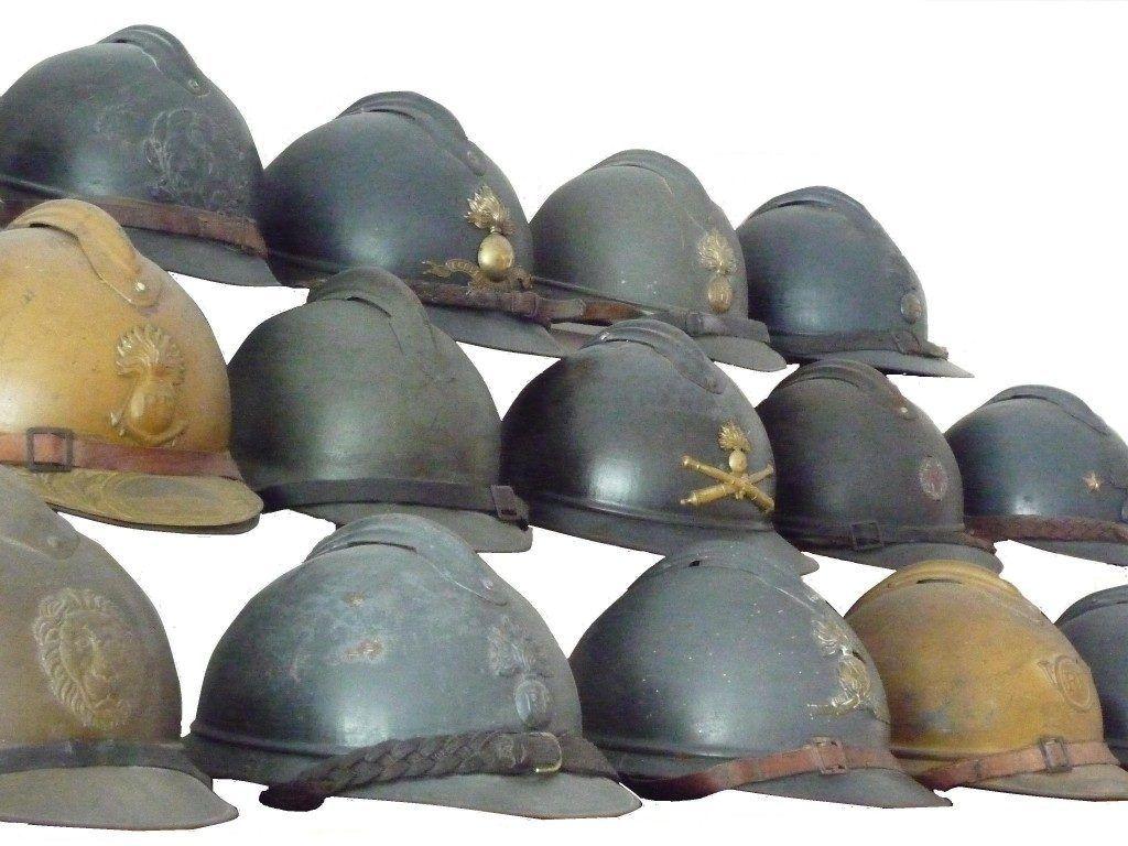 Французские шлемы