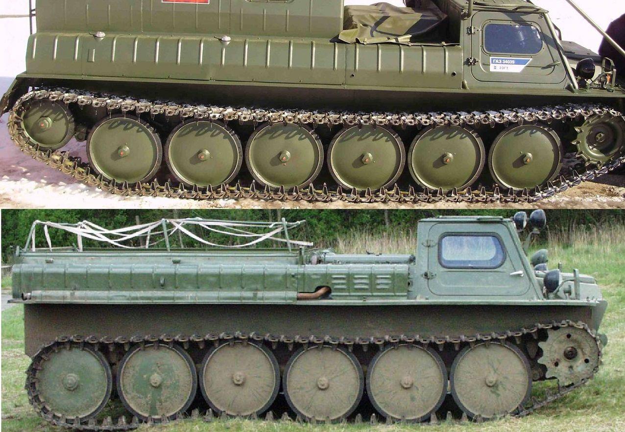 ГАЗ-34039 и ГАЗ-71