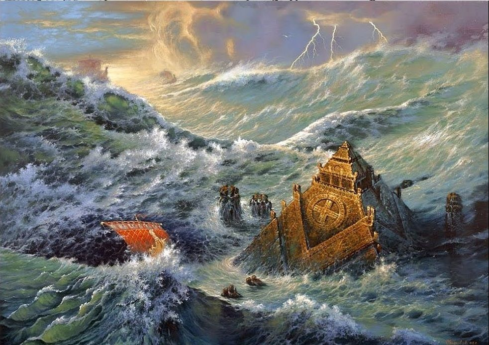 Гибель Атлантиды