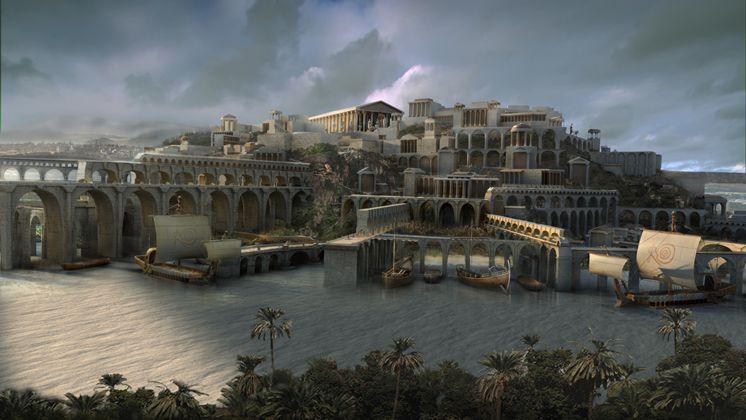 Города Атлантиды