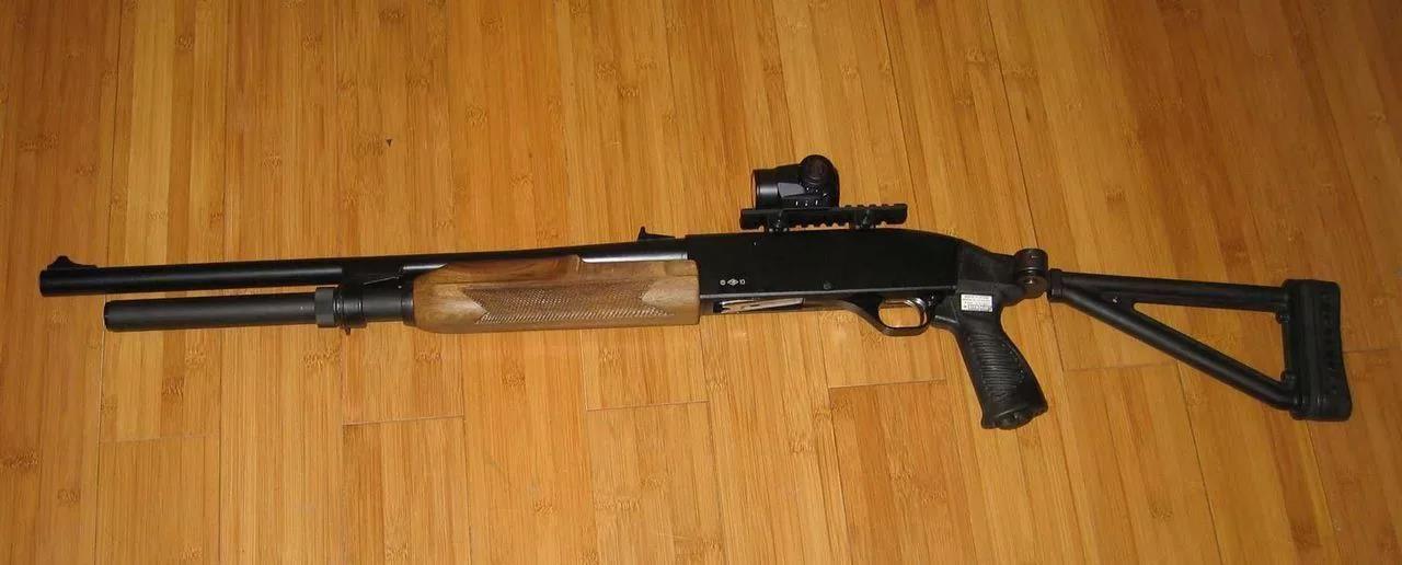 МР-153 с прицелом
