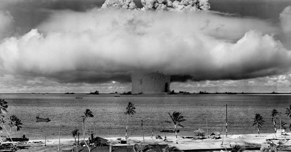 Надводный взрыв