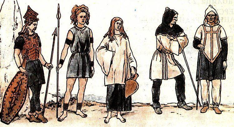 Одежда варваров