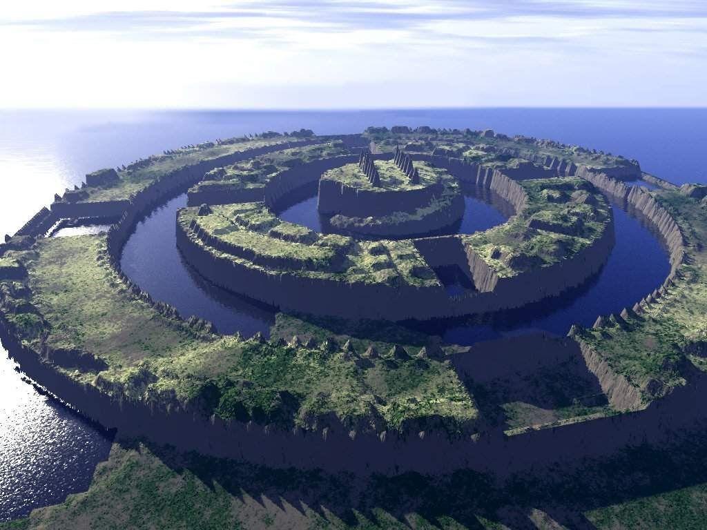 Остров Атлантида