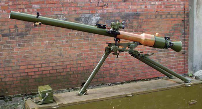Противотанковый гранатомет СПГ-9