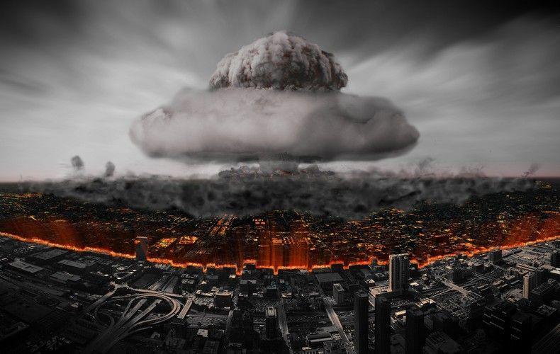 Разрушения при ядерном взрыве