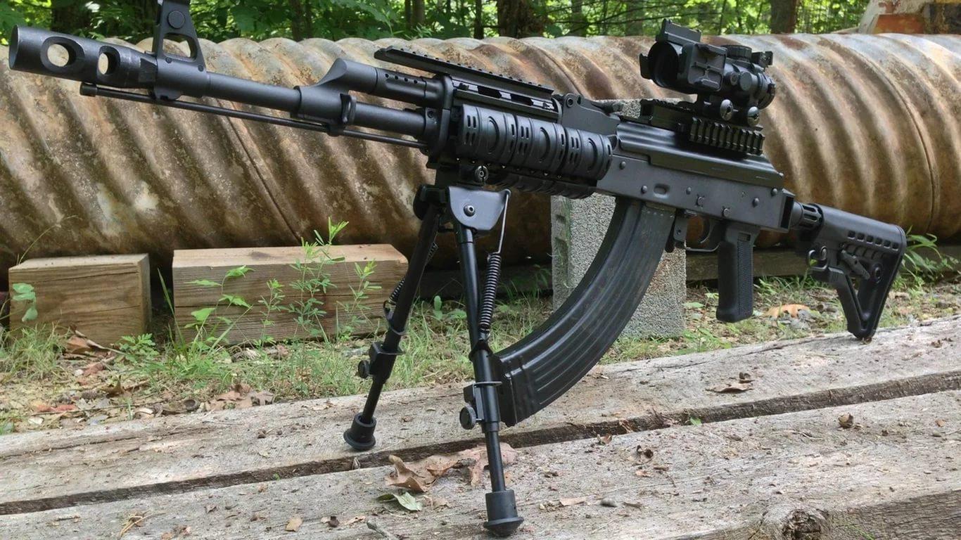РПК-16 с пулеметным рожком