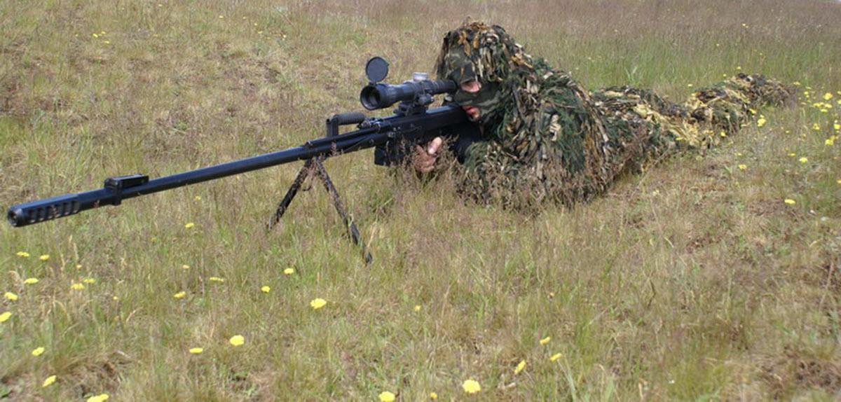 Снайпер с ОСВ-96