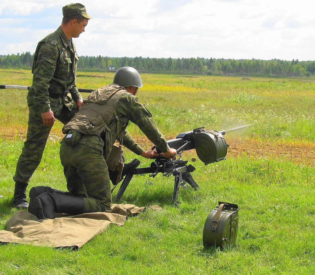 Стрельба из АГС-30