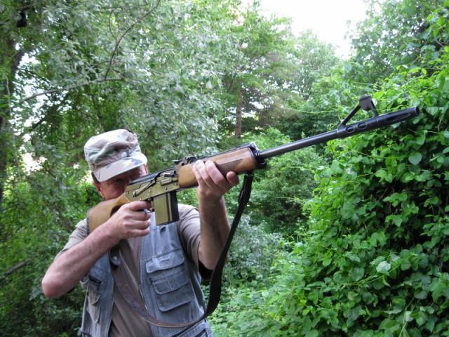 Стрельба из Вепря-308