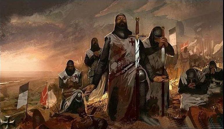 Тамплиеры в бою