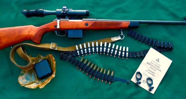 ТОЗ-122 с прицелом и патроны