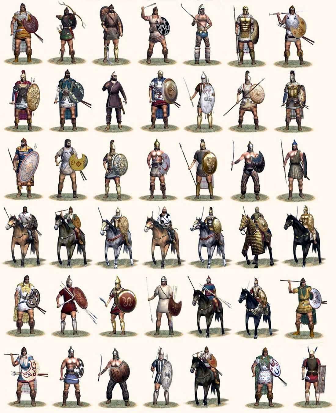 Воины варваров