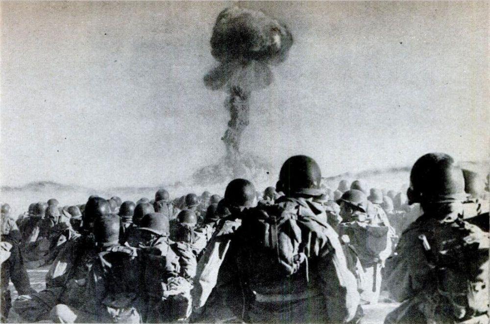 Ядерный взрыв на учениях Desert Rock I