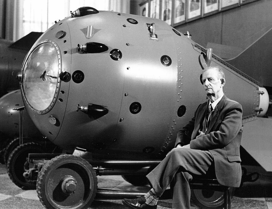 Юлий Харитон, один из создателей атомной бомбы