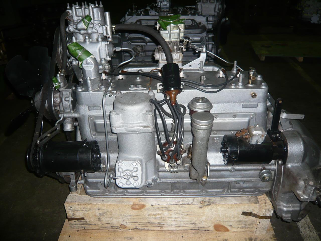 Двигатель ЗИЛ-157