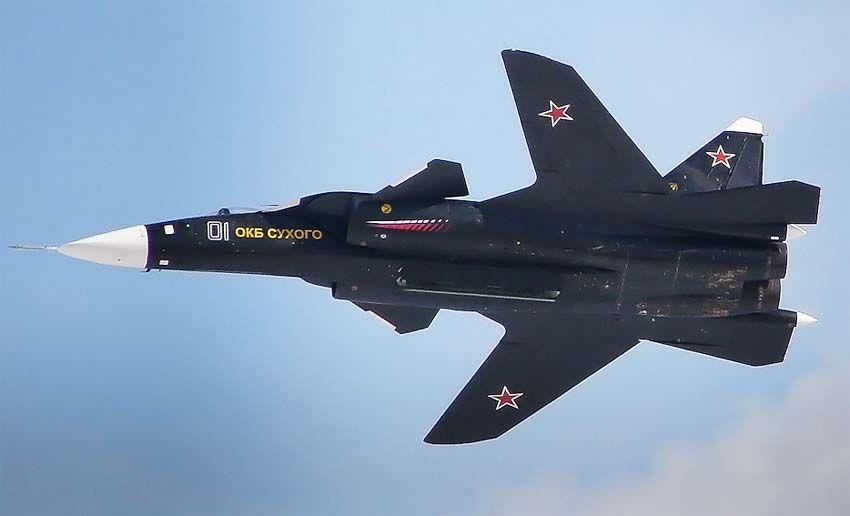 Форма крыльев Су-47