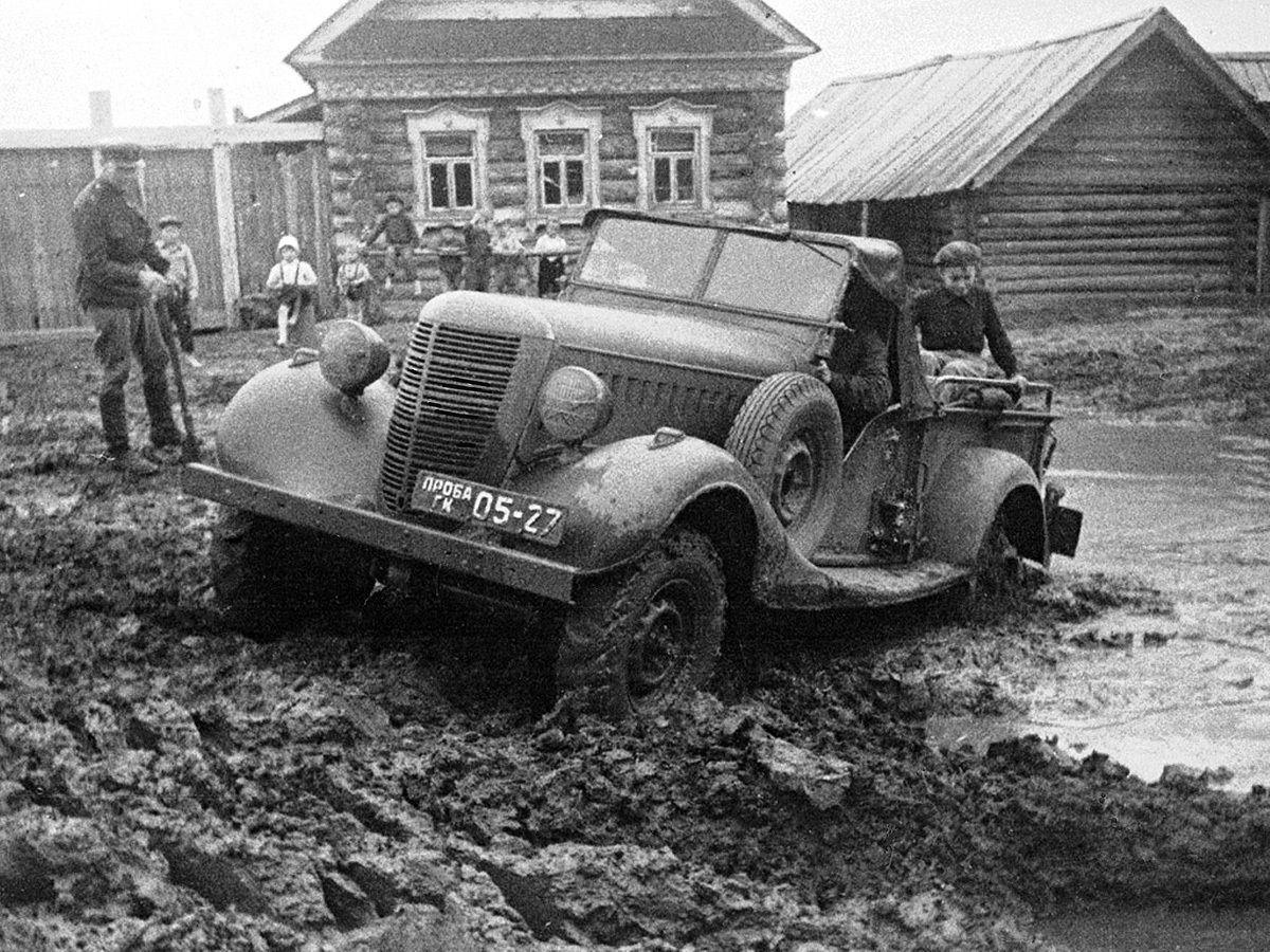 ГАЗ-61 на испытаниях
