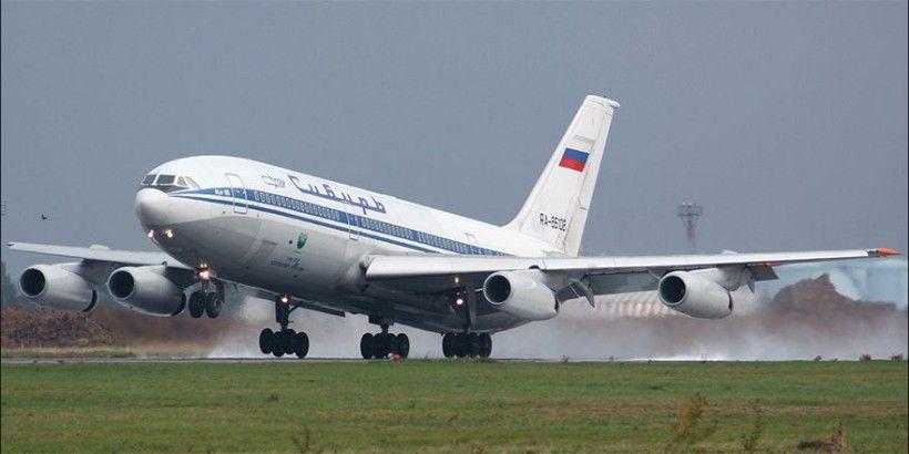 Ил-86 на ВПП