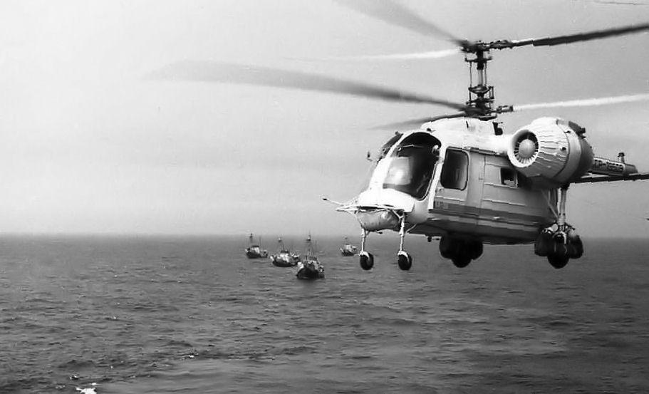 Ка-26 над морем