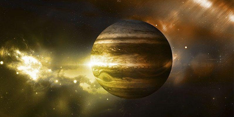 Коронарный выброс на Юпитере