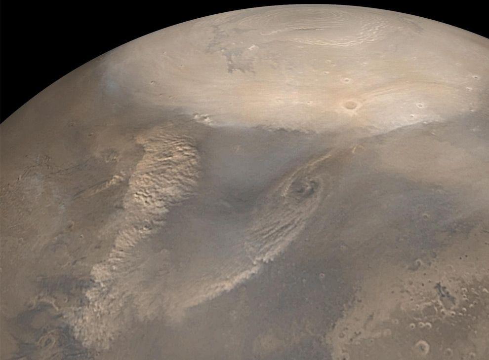 Марсианские полярные шапки