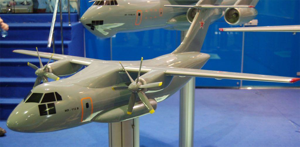 Модель Ил-112