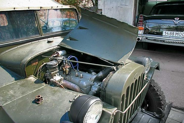 Мотор ГАЗ-64